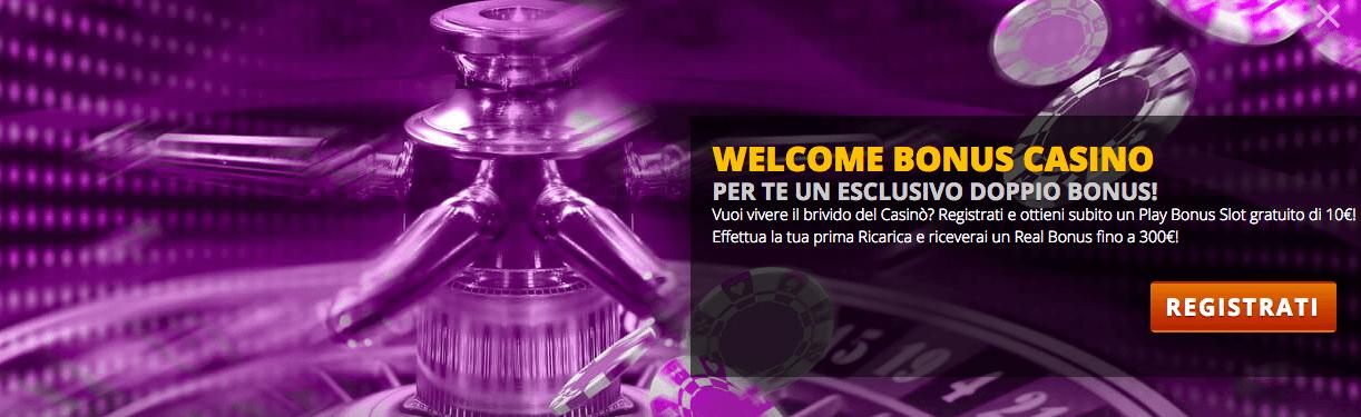 codice promozionale intralot bonus benvenuto casino