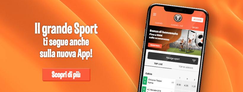 leovegas scommesse mobile app sport