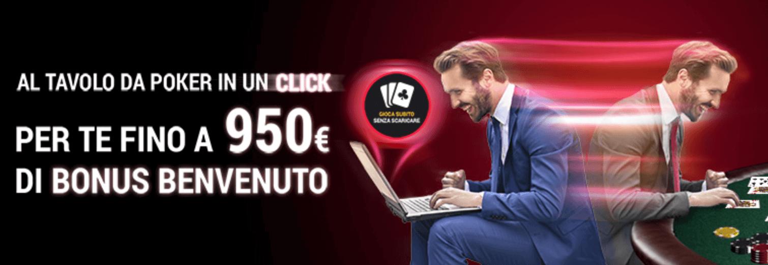 codice promozionale lottomatica bonus benvenuto poker